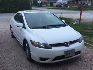 2008 Honda Civic LX-SR Coupe (2 door)
