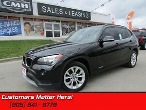 2014 BMW X1 xDrive28i   HEATED LEATHER, DUAL CLIMATE, PUSHSTART!