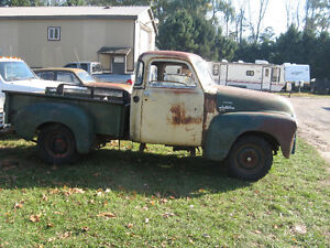 Western 1949 GMC 5 window project truck, sell trade London Ontario image 4