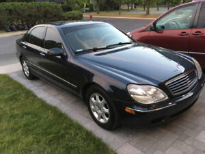 Mercedes S430L Bleue- Impeccable