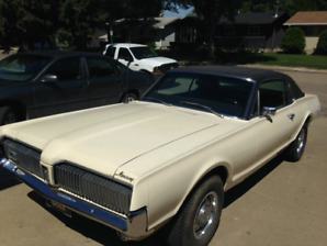 REDUCED!!  1967 Mercury Cougar 390cid 4bbl