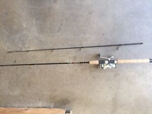 Shakespeare fishing rod and reel
