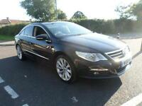 VOLKSWAGEN PASSAT CC GT TDI BLUEMOTION TECHNOLOGY DSG Low Miles F.S.H, Black, Au