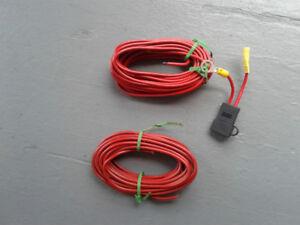 Fil électrique 12 volts grosseur 10