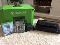 Xbox one + 2games