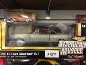 1969 dodge charger american muscle 1/18 diecast