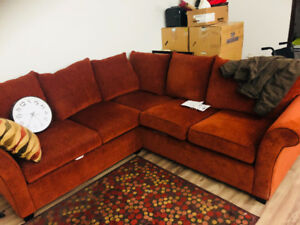 Small size sectional couch