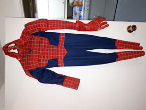 Costume d'halloween spidermen
