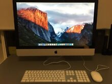"Apple iMac 27"" 2012 - Core i5 - 8GB - 250GB- Software Included! Reynella Morphett Vale Area Preview"