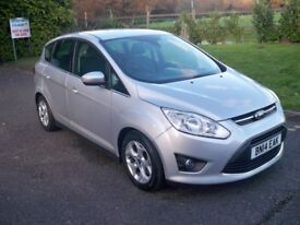 Ford C-Max 1.6 TI-VCT ZETEC 105PS FULL SERVICE HISTORY HIGH SPECIFICATION WITH BLUETOOTH 2014