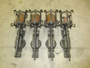 Gothic style wall lights