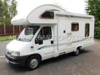 Bessacarr E425, 2003, 4 Berth, Fiat 2.3TD, L-Shaped Rear Lounge, 29k Miles!