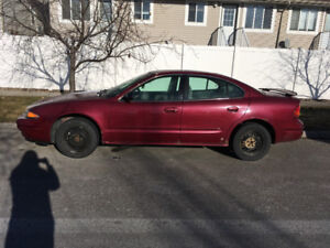 2004 Oldsmobile alero burgundy