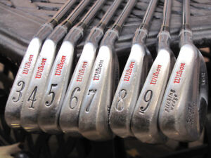 Wilson Staff FG-17 Tour Blades Classic and Renowned