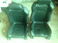 03 04 05 06 07 NISSAN 350Z COUPE CONVERTIBLE FRONT SEATS LEATHER
