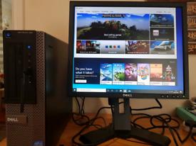 fast gaming pc bundle intel i3 8gb ram wifi