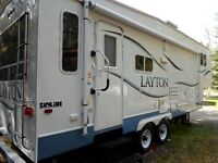 2007 LAYTON 29.5 5TH WHEEL