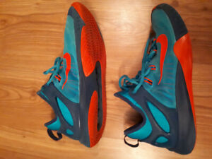 Mens size 11 Nike Zoom basketball shoes. Rarely worn.