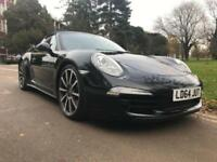2014 Porsche 911 S 2dr PDK 2 door Convertible