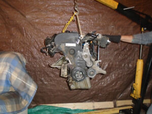 Engine from 2002 Audi 1.8 L  type  AMB turbo other spare parts