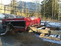 Old ford bed trailer