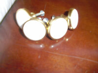 BRASS AND CERAMIC CABINET KNOBS  NEW