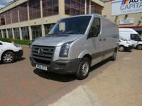 VOLKSWAGEN CRAFTER 2.5 CR35 BLUE 108 BHP MWB HIGH ROOF NO VAT