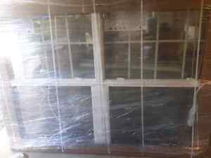 Gentek windows with top grill