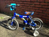Raleigh MX14 Boys 14inch Wheel Bike