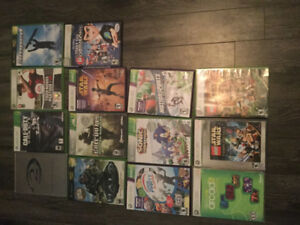 X Box 360 Kinect 4 Controllers