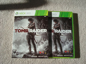 Like New XBOX360 games, $10 each: Tomb Raider, KOF XIII, Halo...