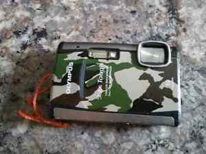 Olympus Waterproof Tough 6000 Camera Camouflage print