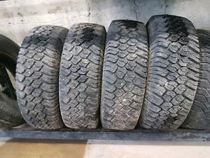 Lt Mud tires 235/75/R15 super aggressive tread