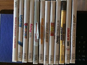 Nintendo Wii Games and Accessories 100 obo