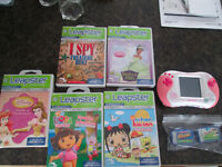 Leapfrog (Leapster) and 7 Games