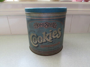 Vintage 1970s Ballonoff Cookie Tin with Lid