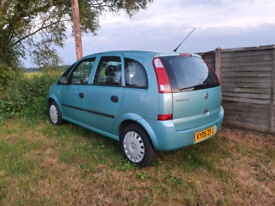 Meriva automatic low miles mint condition