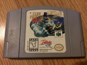 Clay fighter 63 1/3 Nintendo 64  West Island Greater Montréal image 1