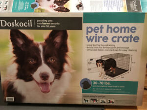 Dog Crate - Large Size for sale
