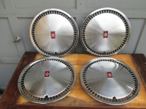 Set of Oldsmobile 15 Inch Hub caps / Wheel covers