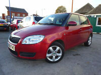 2008 08 SKODA FABIA 1.4 16V 2 5-DOOR HATCHBACK