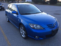 2006 Mazda3 Sport,5spd,a/c,fully loaded,sunroof,imaculate!