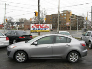 **2010 Mazda 3 4 door auto** Certified & E-tested