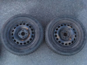 4 tires - 2 summers & 2 winters