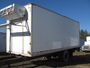 24′ cargo box for truck (insulated)