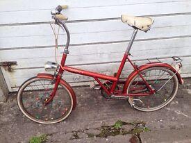 Vintage bike twenty