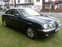 Jaguar S-TYPE 2.5 V6 auto SE [sat nav}