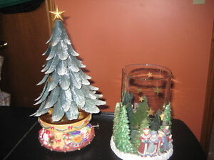 Candle lite Christmas Tree,Candle Holder, Bulb Storage Box Windsor Region Ontario image 1