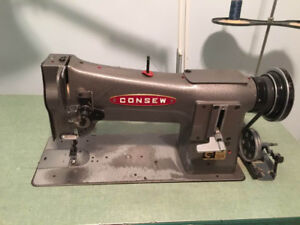 Consew Industrial Upholstery Sewing Machine 206RB, 1983