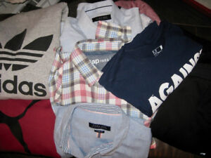 Lot of Men's Clothing Size Medium (GAP, PUMA, ZARA, ADIDAS,)